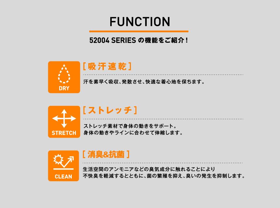 52004 SERIES の機能をご紹介!